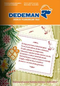 catalog dedeman decembrie 2012