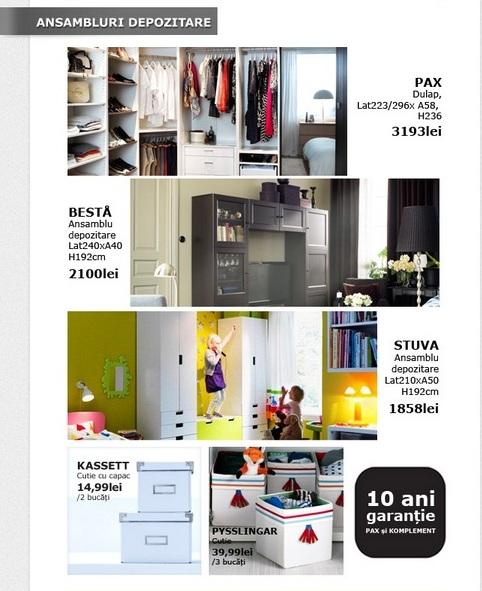 IKEA oferte organizare