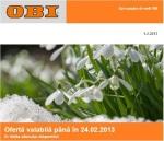 promotii OBI februarie 2013