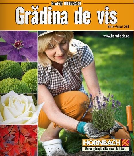 catalog gradina hornbach martie 2013