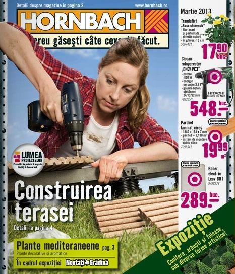 catalog hornbach martie 2013
