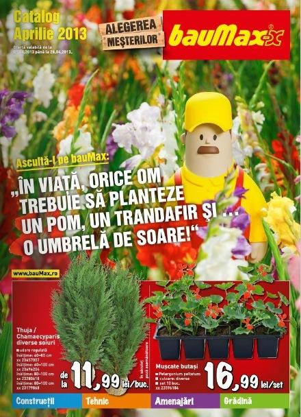 catalog bauMax aprilie 2013