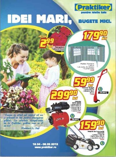 catalog praktiker aprilie 2013