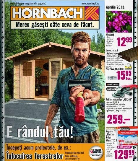 Hornbach, catalog aprilie 2013
