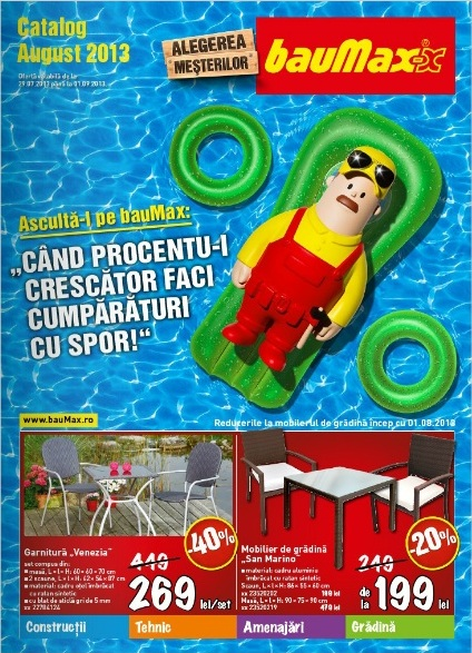 catalog baumax august 2013