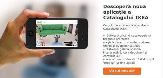 aplicație mobilă catalog IKEA 2014