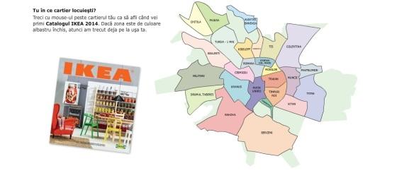 harta distribuție catalog 2014